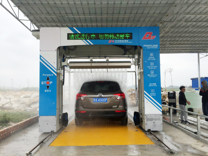 Installation and delivery of the second Leisuwash DG in Binyang County, Nanning City, Guangxi Province has been completed